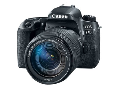 Canon EOS 77D Digital camera SLR 24.2 MP APS-C 1080p / 60 fps