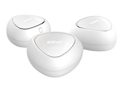 D-Link Covr Whole Home Wi-Fi system (3 extenders) up to 465 sq.m GigE, 802.11ac Wave 2