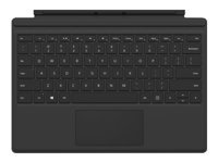 Microsoft Surface Pro Type Cover (M1725) - Keyboard - with trackpad, accelerometer - English - North American layout - black - commercial - for Surface Pro (Mid 2017), Pro 3, Pro 4