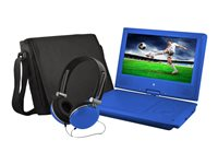 Ematic EPD909 DVD player portable display: 9INCH blue