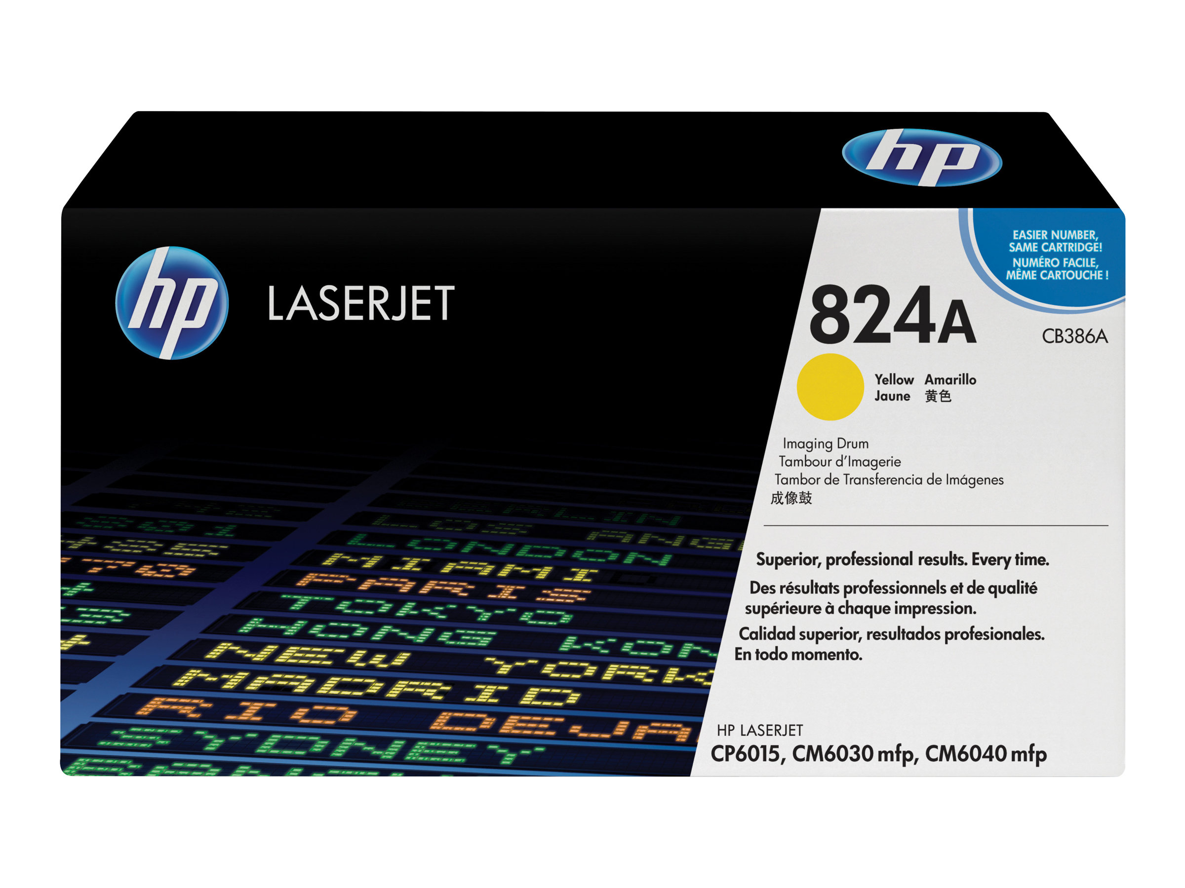 HP 824A - 1 - Gelb - Trommel-Kit - für Color LaserJet CL2000, CM6030, CM6040, CP6015