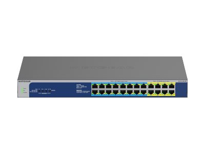 NETGEAR GS524UP - switch - 24 ports - unmanaged - rack-mountable