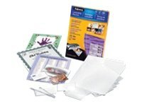 Fellowes Laminating Pouches Starter kit 130-pack glossy 9 i