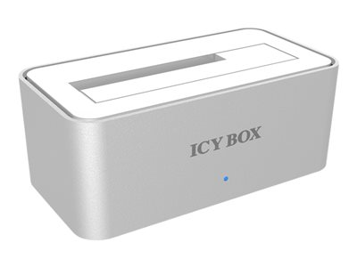 RaidSonic ICY BOX IB-111StU3-Wh - station d'accueil HDD - SATA 3Gb/s - USB 3.0