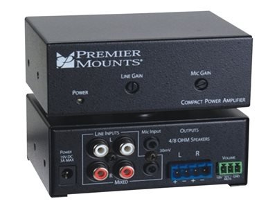 Premier Mounts CPA-50 Amplifier 50 Watt (total)