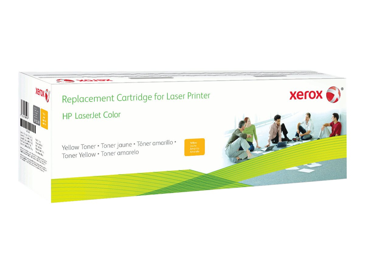 Xerox - yellow - original - toner cartridge (alternative for: HP Q6462A)