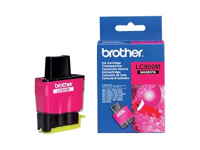 Brother LC-900M Blister Pack - magenta - original - ink cartridge