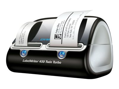 DYMO LabelWriter 450 Twin Turbo Label printer thermal paper Roll (2.44 in) 600 x 300 dpi