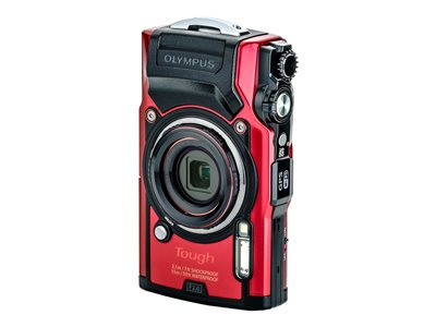 Olympus Tough TG-6 Digital camera compact 12.0 MP 4K / 30 fps 4x optical zoom Wi-Fi