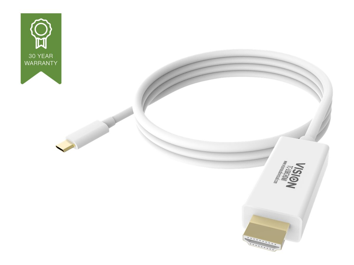 Vision - external video adapter - white