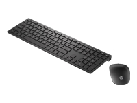 HP Pavilion 800 - Keyboard and mouse set - wireless - swiss black - for OMEN by HP 15; HP 14, 15, 17, 24; ENVY 17; Pavilion 15; Pavilion Gaming 15, 17; Stream 14