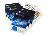 Picture of HPE Ultrium 6 RW Bar Code Label Pack - bar code labels (Q2013A)
