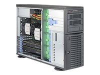 Supermicro SuperWorkstation 7048A-T Tower 4U no CPU RAM 0 GB no HDD GigE no OS