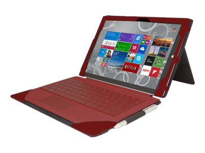 Urban Factory Elegant Folio Flip cover for tablet faux leather red