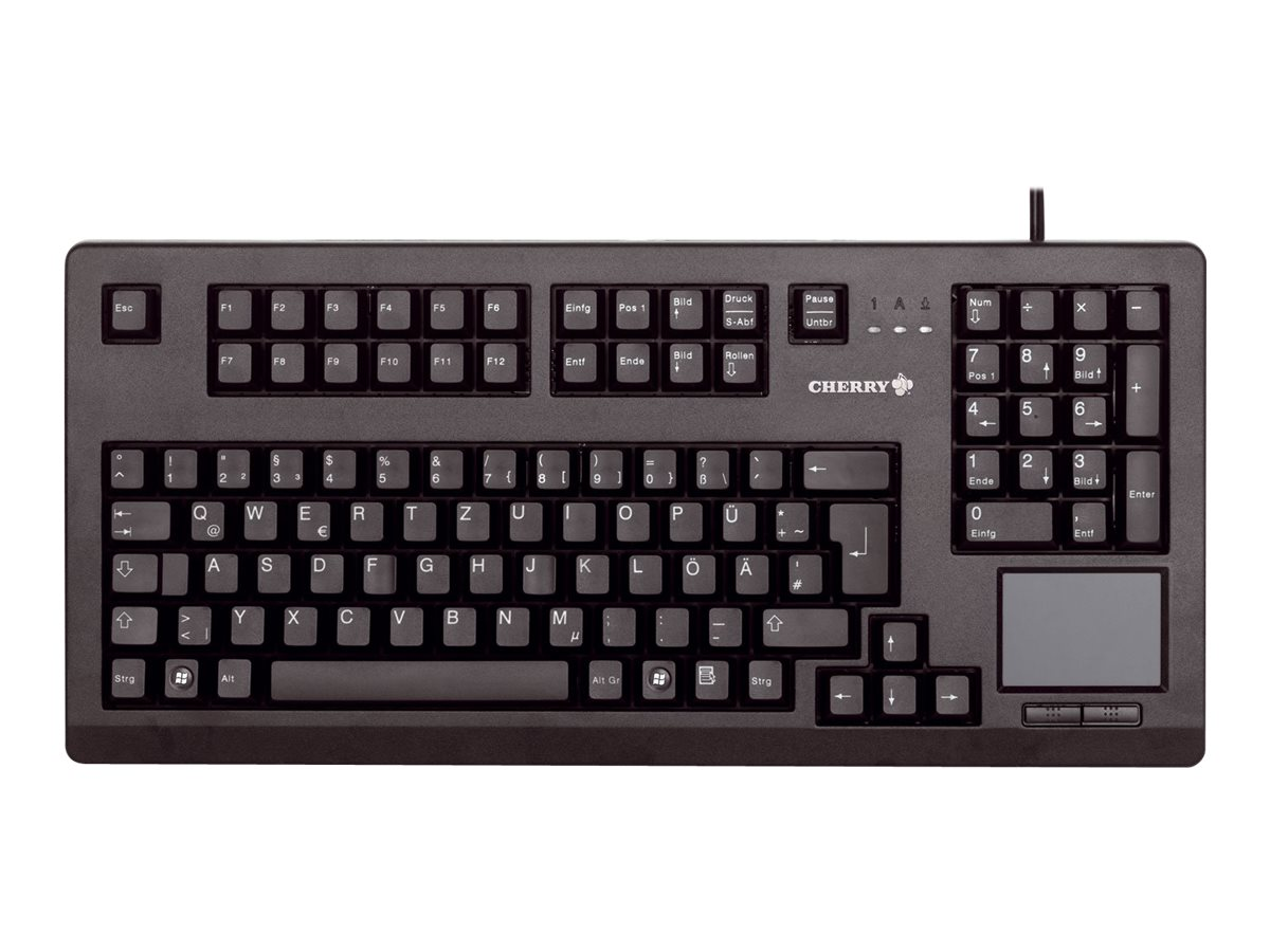 CHERRY Advanced Performance Line TouchBoard G80-11900 - Tastatur - USB - Deutsch - Schwarz