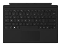 Microsoft Surface Pro Type Cover with Fingerprint ID - Keyboard - with trackpad, accelerometer - backlit - QWERTY - US - black - commercial - for Surface Pro (Mid 2017), Pro 3, Pro 4