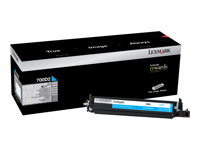 Lexmark 700D2 Cyan original developer kit LCCP