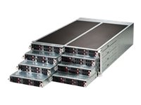 Supermicro SuperServer F618R2-RC1PT+ - 8 Knoten