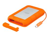 LaCie Rugged Thunderbolt - Disque dur - 2 To - externe (portable) - USB 3.0 / Thunderbolt - AES 256 bits