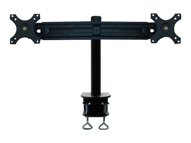 NewStar Tilt/Turn/Rotate Dual Desk Mount (clamp) FPMA-D700D - montage sur bureau