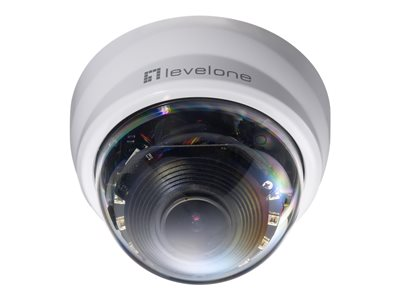 LevelOne FCS-4201 Network surveillance camera dome outdoor color (Day&Night) 2 MP