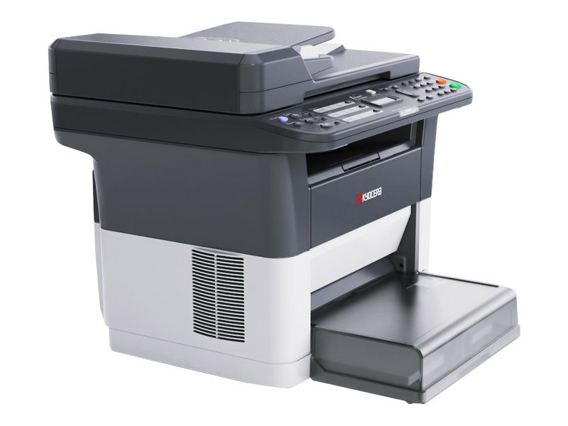 Kyocera FS-1320MFP - Multifunktionsdrucker - s/w - Laser - 216 x 356 mm (Original) - A4/Legal (Medien)