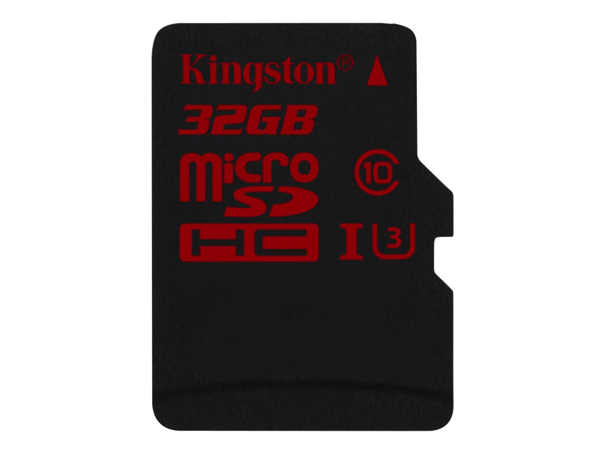 Kingston - Flash-Speicherkarte - 32 GB - UHS Class 3 - microSDHC UHS-I
