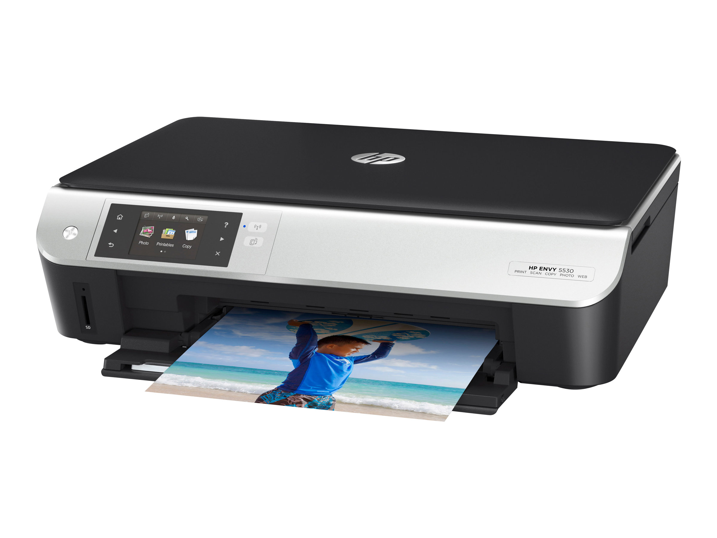 HP Envy 5530 e-All-in-One - Multifunktionsdrucker - Farbe - Tintenstrahl - 216 x 297 mm (Original) - A4/Legal (Medien)