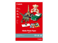 Picture of Canon MP-101 - photo paper - 40 sheet(s) - A3 - 170 g/m² (7981A008)