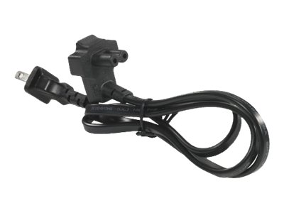Dell - power cable - 2-pole to 2-pole - 1.8 m