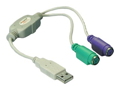 DeLOCK USB to PS/2 Adapter adattatore tastiera / mouse - USB