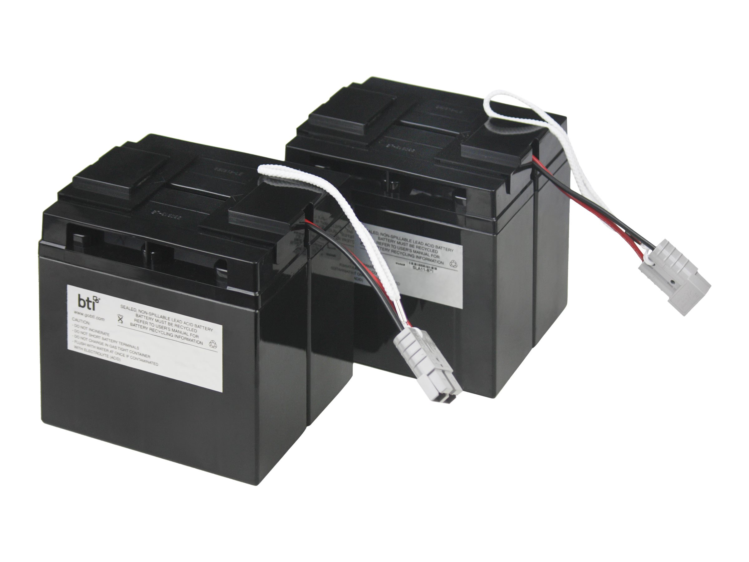 BTI Replacement Battery #11 for APC - UPS battery - lead acid