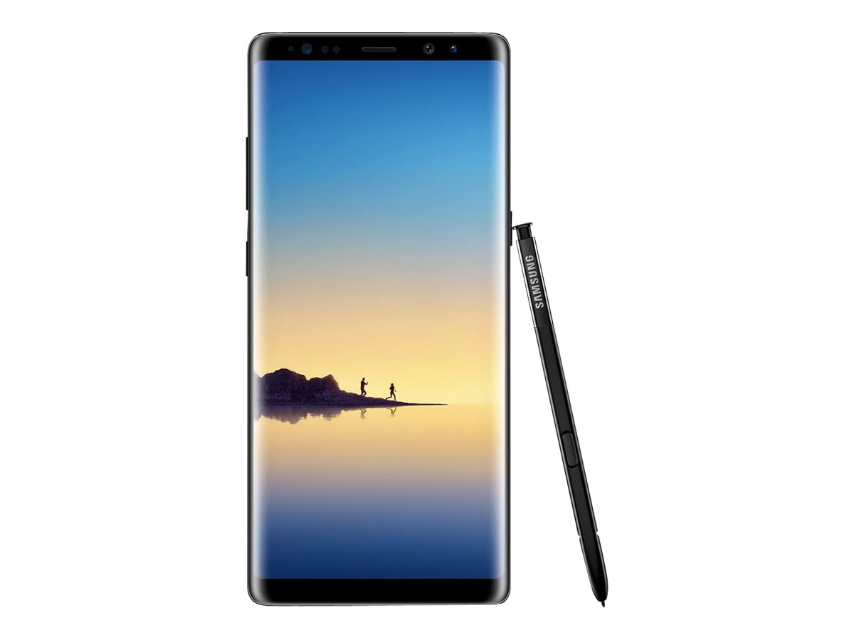 Samsung Galaxy Note8 - midnight black - 4G - 64 GB - CDMA / GSM - smartphone