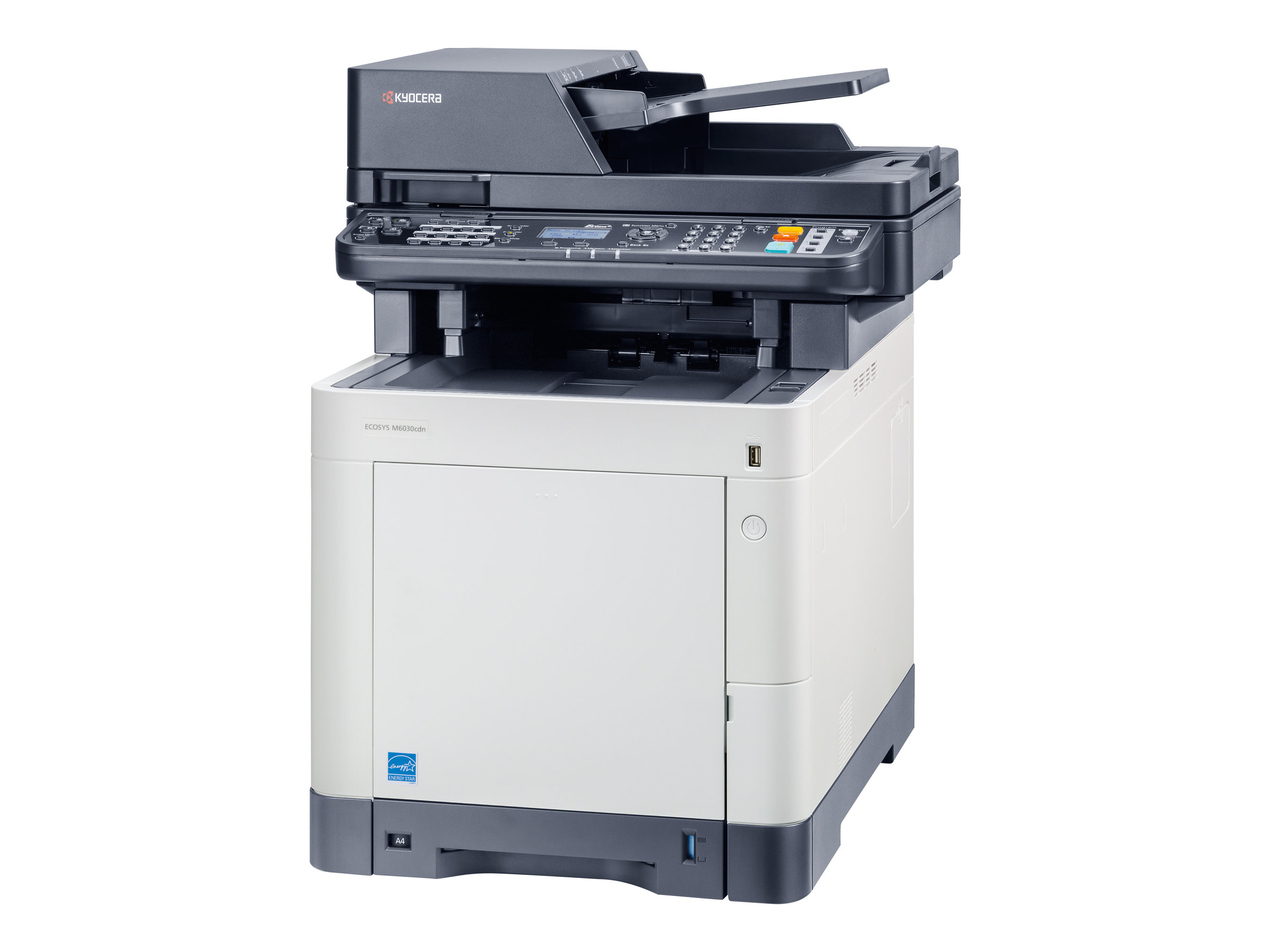 Kyocera ECOSYS M6030cdn - Multifunktionsdrucker - Farbe - Laser - Legal (216 x 356 mm)/A4 (210 x 297 mm) (Original) - A4/Legal (Medien)