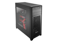 Corsair Obsidian Series 450D - Mid tower - extended ATX - no power supply ( ATX ) - black - USB/Audio