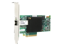 HPE StoreFabric SN1100Q 16Gb Single Port - Host bus adapter - PCIe 3.0 low profile - 16Gb Fibre Channel x 1 - for ProLiant DL360 Gen10, DL380 Gen10