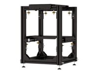 Da-Lite Stand for 2 projectors aluminum, steel black floor-standing