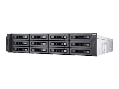 QNAP TES-1885U NAS server 18 bays rack-mountable SATA 6Gb/s / SAS 12Gb/s