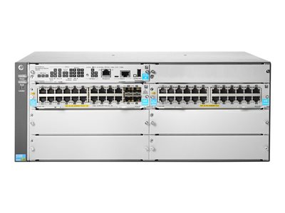 HPE Aruba 5406R 44GT PoE+ / 4SFP+ (No PSU) v3 zl2 Switch managed