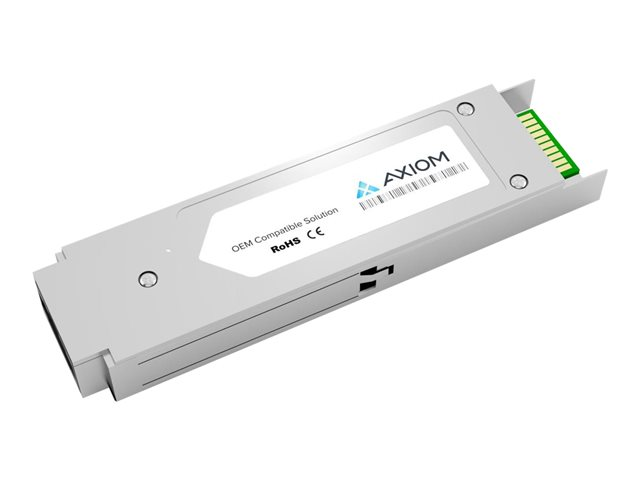 Axiom Cisco XFP-10GER-192IR+= Compatible - XFP transceiver module (equivalent to: Cisco XFP-10GER-192IR+=) - 10 GigE - 10GBase-ER, 10GBase-EW - LC single-mode - up to 40 km - 1550 nm