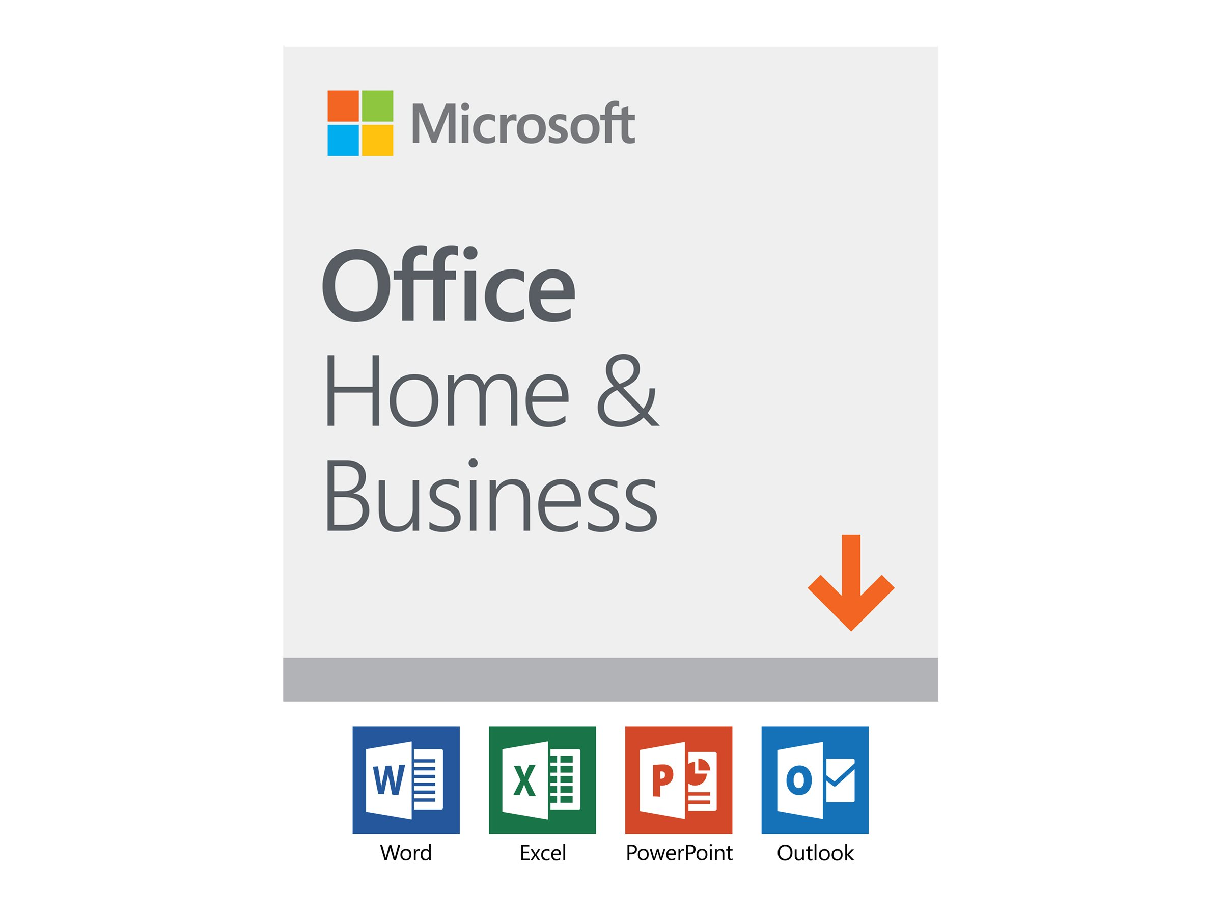 Microsoft Office Home and Business 2019 - Lizenz - 1 PC/Mac - Download - ESD - National Retail, Click-to-Run