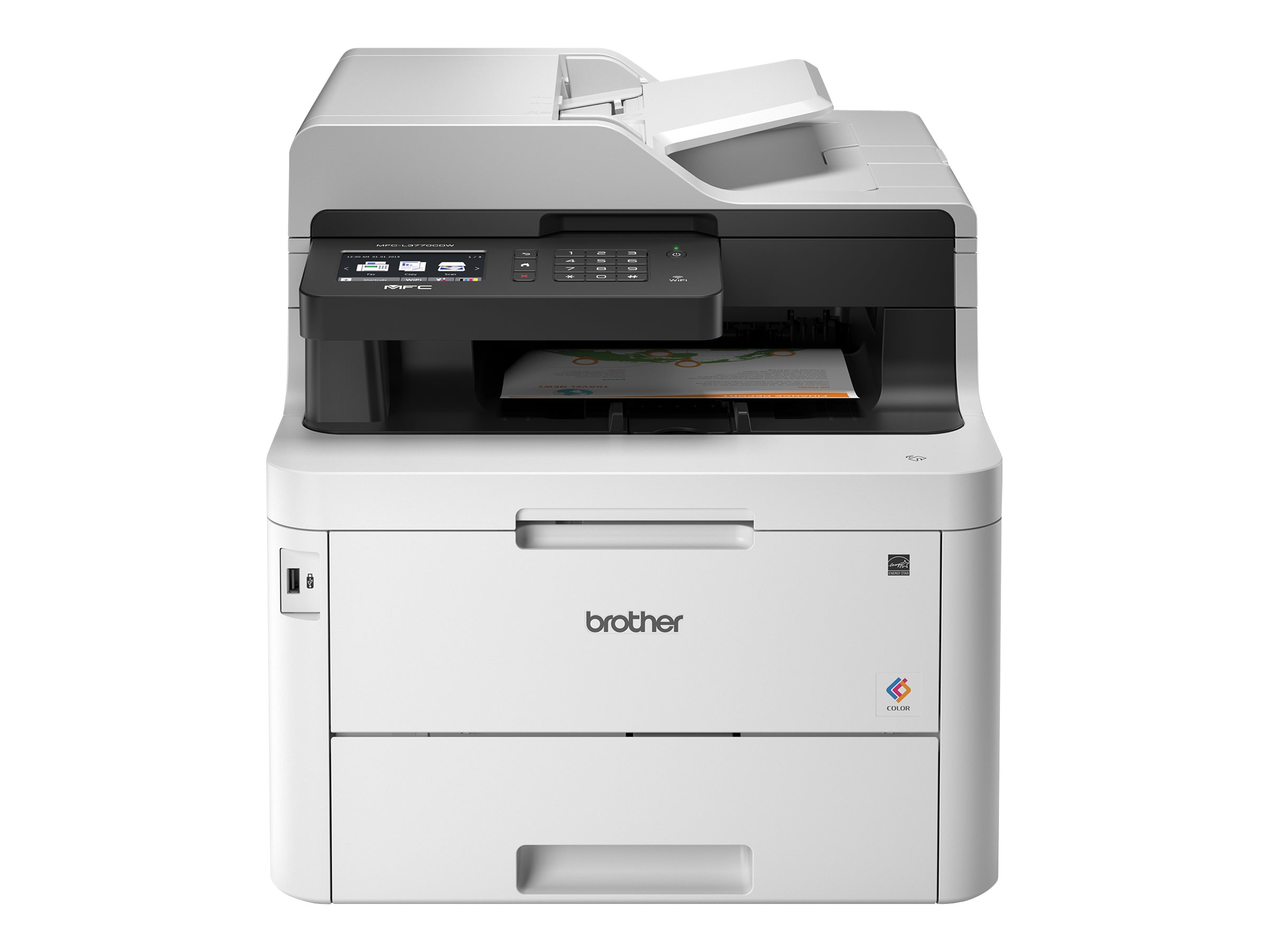 Imprimante laser couleur BROTHER n°MFC-L3770CDW vue avant