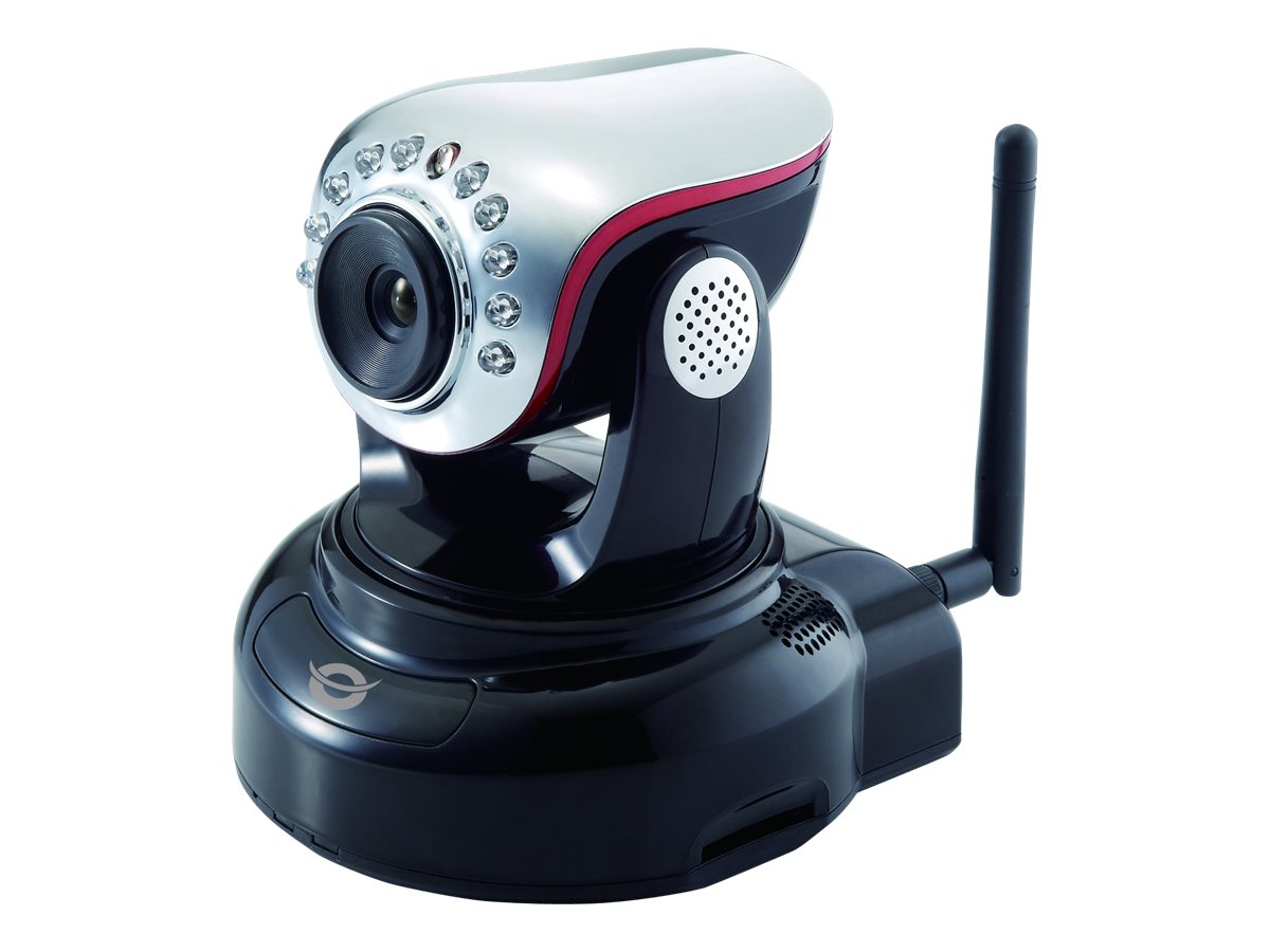 Conceptronic Wireless Pan&Tilt Cloud IP Camera CIPCAM720PTIWL - Netzwerk-Überwachungskamera - schwenken / neigen - Farbe (Tag&Nacht) - 1,3 MP - 1280 x 720