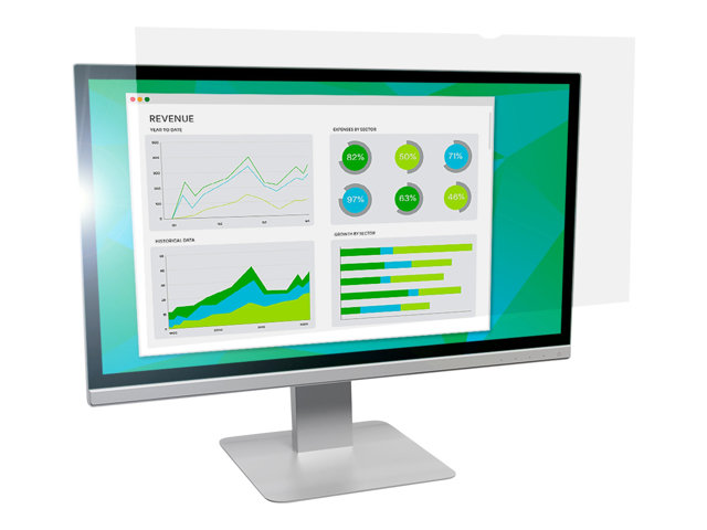 """Image of 3M Anti-Glare Filter for 21.5"""" Widescreen Monitor - display anti-glare filter - 21.5"""""""