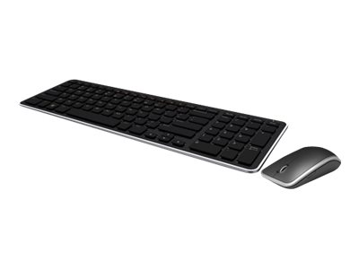 Dell KM714 Wireless Keyboard and Mouse Combo Keyboard and mouse set wireless 2.4 GHz US