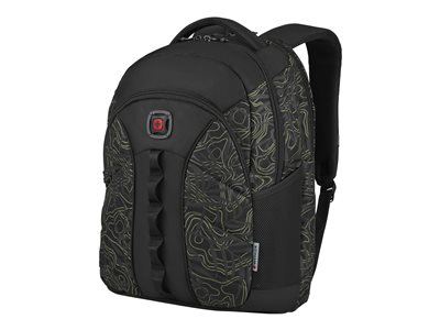 Wenger Sun Notebook carrying backpack 16INCH black, fern topo