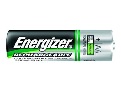 Energizer NH 15BP-4 Battery 4 x AA type NiMH ( rechargeable ) 1200 mAh silver