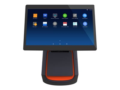 POS-X T1A All-in-one 1 x Snapdragon RAM 2 GB flash 16 GB