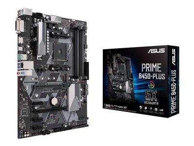 ASUS PRIME B450-PLUS ATX  AM4 AMD B450