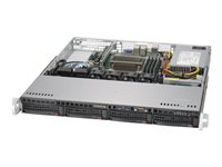 Supermicro SuperServer 5019S-M Server rack-mountable 1U 1-way RAM 0 MB SATA